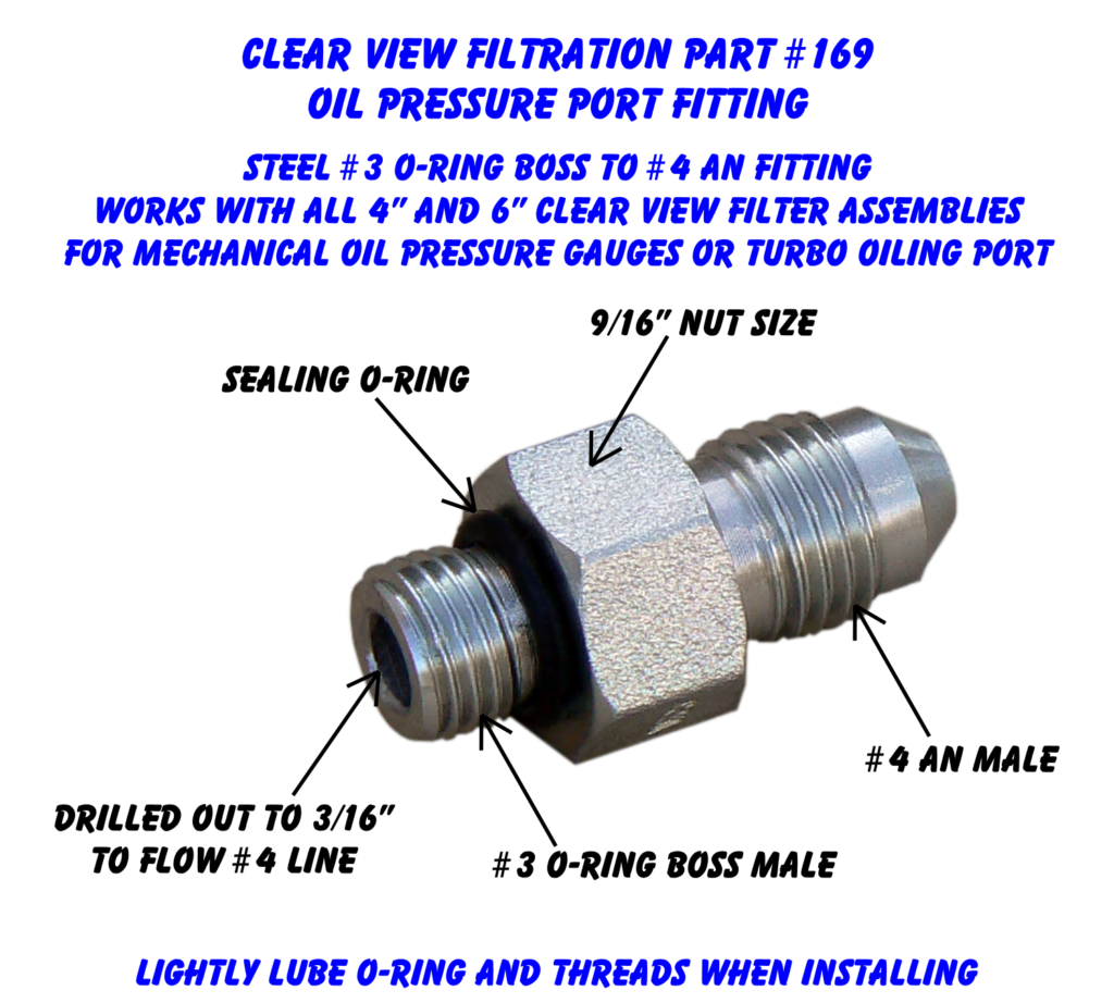 P#169 - Oil Pressure Port Fitting DetailedView